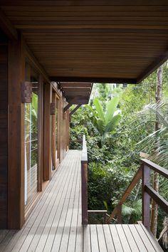 Praia do Felix Beach House in the Brazilian forest