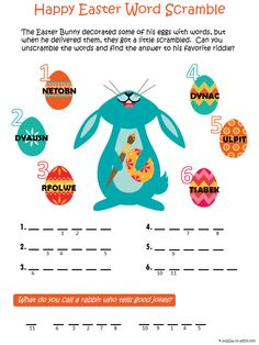 http://www.puzzles-to-print.com/easter-puzzles/easter-word-scramble ...