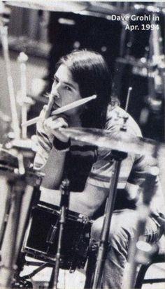 Dave Grohl, April 1994 #Nirvana