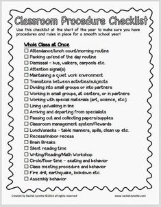 Check out these five classroom procedure tips to help you successfully teach classroom procedures. There's a free checklist included in the post, as well!
