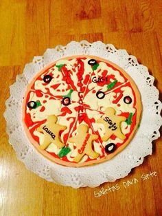 Galleta-pizza!!