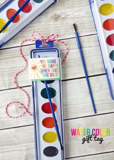 """maybe turn into """"rainbow, Gos promises"""" for Kids 4 truth You-Make-Me-Happy-When-Skies-are-Gray-Paint-Printable"""