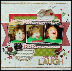 My Life...Perfectly Imperfect: Love your Laugh - Lady Pattern Paper