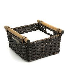 Pole Handle Napkin Basket   zulily