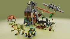 5987: Dino Research Compound | 5987: Dino Research Compound … | Flickr