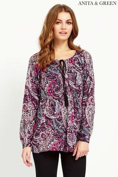 Buy Anita & Green Print Blouse online today at Next: Canada