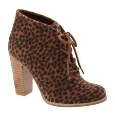 Old Navy Womens Faux Animal Fur Ankle Boots ($16) ❤ liked on Polyvore
