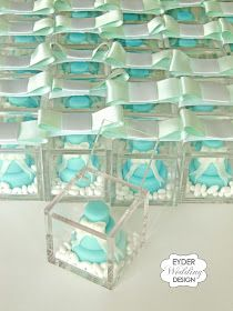 to ] Great to own a Ray-Ban sunglasses as summer gift. Mini Wedding Cakes, Wedding Party Favors, Wedding Decorations, Mini Cakes, Tiffany Party, Tiffany Blue, Aqua Wedding, Dream Wedding, Wedding Stuff