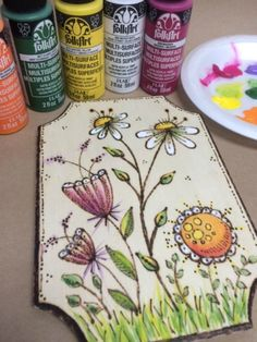 DIY Wood Burning: How To Tips & Project Patterns The Plaid Palette blog post by Chris Williams