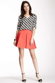 Collective Concepts Flare Skirt
