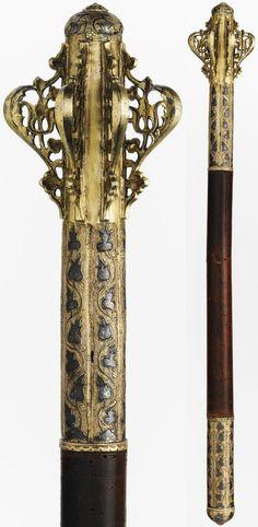 Ottoman mace, 17th century (60.96 cm)