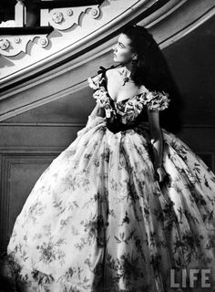 Scarlett O-Hara ( Vivian Leigh) flawed, strong- willed, not-always-likeable, beautiful 'heroine' of the old South - in Margaret Mitchell's masterpiece, GONE WITH THE WIND