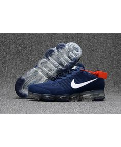 Nike Air VaporMax KPU Mens Running Shoes Dark Blue White