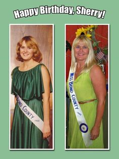 In honor of the Boss's birthday, we give you a little #ThrowbackThursday to her days as Miss Bond County! She still wears green well, even if it isn't #Oliver green today!  #OliverHeritage