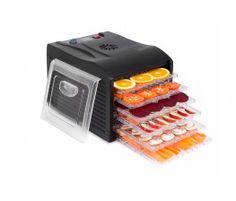 Deshidrator / uscător alimentar cu 6 tăvi