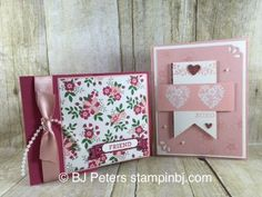 Bloomin' Love, Bloomin' Heart, Love Blossoms, Stampin' Up! Valentine Day Love, Valentine Day Cards, Valentine Ideas, Making Greeting Cards, Greeting Cards Handmade, Bloomin Love Stampin Up, Love Stamps, Stamping Up Cards, Heart Cards