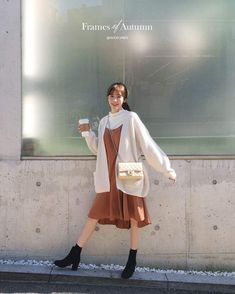 84 korean outfits to look cool and fashionable 62 Korean Fashion Trends, Korean Street Fashion, Korea Fashion, Japan Fashion, Spring Fashion Casual, Look Fashion, Girl Fashion, Autumn Fashion, Fashion Design