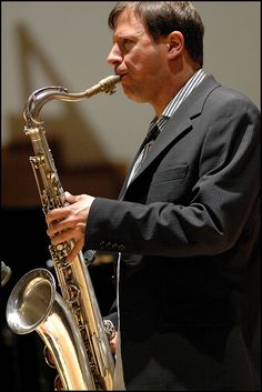 Chris Potter, 2006. Photo Garry Corbett