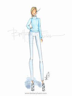 Brittany Fuson: Sky Blue