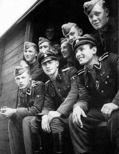 Waffen-SS men from over seventeen european nations who stood together with one common cause  . To defeat communism