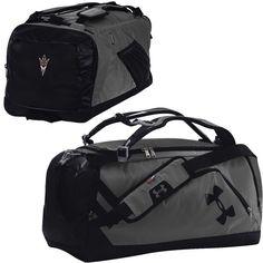 Arizona State Sun Devils Under Armour Good Performance Backpack Duffel Bag - Graphite/Black - $89.99