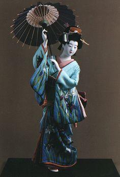 Ayame by Kyoto doll maker Shisui Sekihara