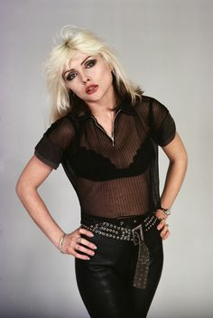 Debbie Harry's Hottest Fashions of All Time: Punk Meets Glam: Debbie Harry of Blondie