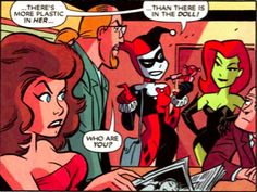Poison Ivy & Harley Quinn panel LOL