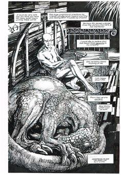 Archer & Armstrong #5 p.22 (Enhanced) - BWS Comic Art