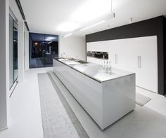 Modern Kitchen Models 25 contemporary kitchen design inspiration | orange walls, gray