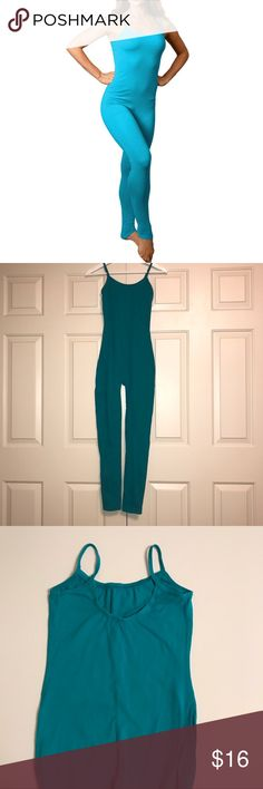 Stretch is Comfort Camisole Unitard - EUC Stretch is Comfort Camisole Unitard - EUC Size Medium Pants Jumpsuits & Rompers