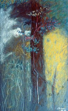 Rick Stevens Abstract Landscape Painting, Abstract Oil, Landscape Art, Landscape Paintings, Abstract Trees, Impressionist Landscape, Abstract Paintings, Oil Paintings, Impressionism