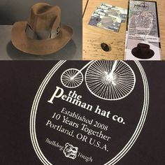 5e8b8ef7b23 Just finished another Indiana Jones Raiders of the Lost Ark fedora. Every  bespoke comes with its own Hat box and lapel pin.
