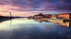 Bratislava twilight by M. Kovac