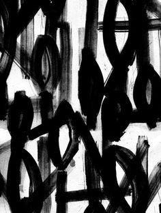 Black & white pattern; abstract textile print design // Audrey Victoria Keiffer
