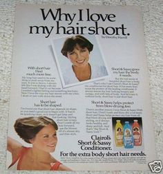 "Dorothy Hamill for Short & Sassy - I totally had this haircut!!!  The neighbor kept calling me the new ""little boy"" next door.  Scarred for life...."