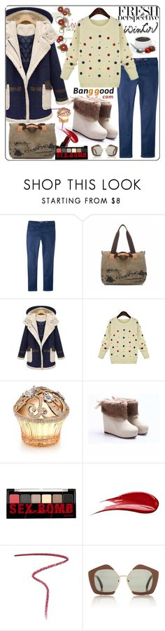 """Banggood 12."" by esma178 ❤ liked on Polyvore featuring Violeta by Mango, House of Sillage, Hourglass Cosmetics, Burberry, NARS Cosmetics and Marni"