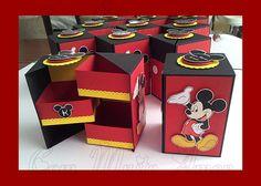 Scrap Festa - Caixa 3 Andares - Mickey
