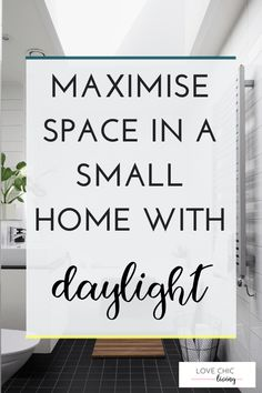 Ideas, tips and advice on how to make your small home feel bigger. Give a small room more light and space with these tips on maximising the daylight available. Perfect for lofts and kitchens with velux roof windows. Source by lovehomeliving Decor advice Home Decor Trends, Home Decor Inspiration, Decor Ideas, Interior Design Issues, Painted Bar Stools, Paint Bar, World Decor, Farmhouse Wall Art, Roof Window