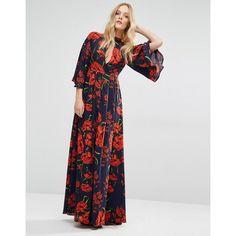 y a s lina maxi dress velvet