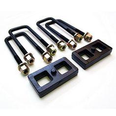 ReadyLift 66-3051 1 Rear Block Kit - Silver