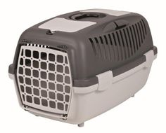 Trixie 39823 Capri 2 Pet Carrier 37 34 55 cm Red  Light Grey -- Read more reviews of the product by visiting the link on the image.