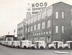 HOOD milk in the Charlestown section of Boston Bob used to help clean up the loading dock, and get a free quart of milk. Divco, the Milk Truck Boston Strong, In Boston, Boston Area, Vintage Trucks, Old Trucks, Charlestown Boston, Boston Pictures, Old Milk Cans, Nostalgic Images