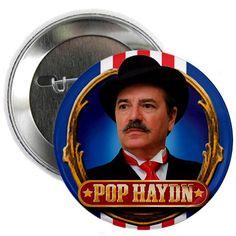 Pop Haydn Button