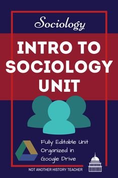 Engage your students while introducing them to the concepts and basics of Sociology with this unit! These Sociology lessons will provide hands-on ways for students to apply knowledge while thinking critically about the material. A variety of media is included with two projects at the end. Make your life easier with this Introduction to Sociology Unit!