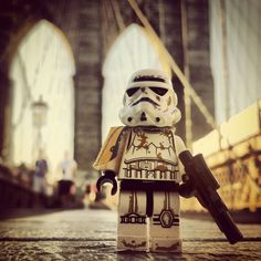1 Lego Star Wars Stormtrooper Takes NYC 10x10 Poster Print. $14.00, via Etsy.