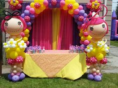 Lalaloopsy Balloon Decor