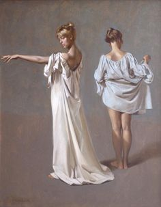 twofigures - Paintings by William Whitaker  <3 <3