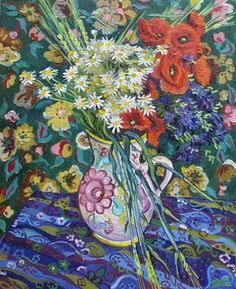 Van Gogh Flower Paintings | Van Gogh's Poppy Flowers / Vase with Flowers Stolen and Recovered