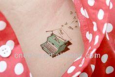 typewriter tattoo - Google Search